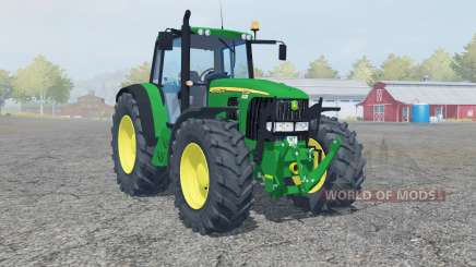 John Deere 6320 2002 для Farming Simulator 2013