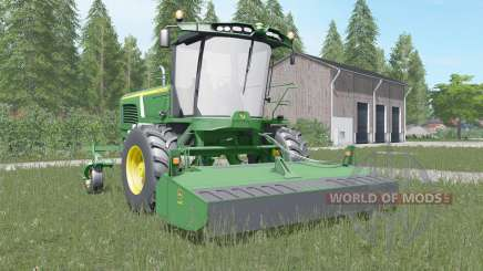 John Deere W260 shamrock green для Farming Simulator 2017