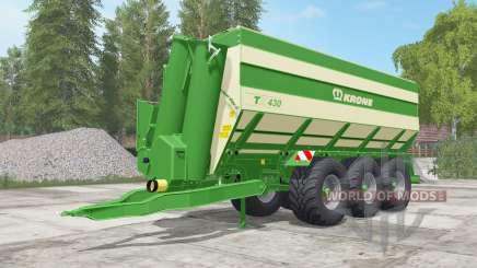 Krone TX 430 north texas green для Farming Simulator 2017
