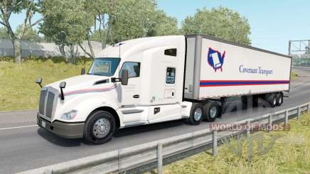 Painted Truck Traffic Pack v2.0.2 для American Truck Simulator