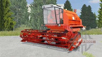 Bizon Gigant Z083 international orange для Farming Simulator 2015