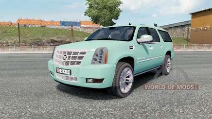 Cadillac Escalade ESV Platinum Edition 2008 для Euro Truck Simulator 2