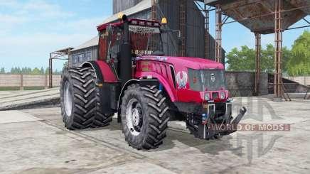 МТЗ-3022ДЦ.1 Беларус ярко-красный окрас для Farming Simulator 2017
