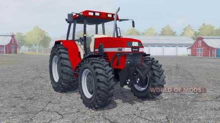Case IH Maxxum 5150 boston university red для Farming Simulator 2013