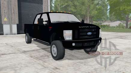 Ford F-350 Super Duty XLT Crew Cab для Farming Simulator 2017