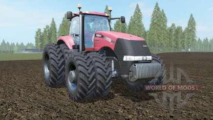 Case IH Magnum 380 CVT carmine pink для Farming Simulator 2017