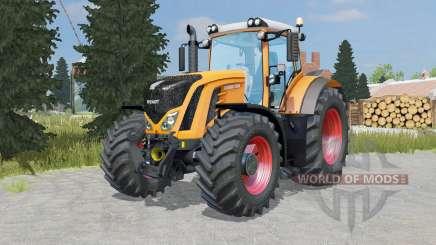 Fendt 927-939 Vario pastel orange для Farming Simulator 2015