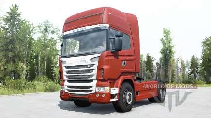 Scania R730 Topline для MudRunner