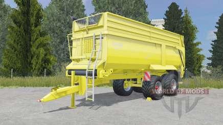 Krampe Bandit 750 golden fizz для Farming Simulator 2015