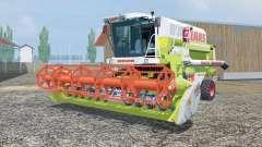 Claas Mega 218 MoreRealistic для Farming Simulator 2013
