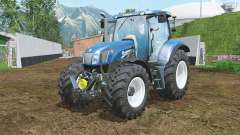 New Holland T6.175 BluePower halogen для Farming Simulator 2015