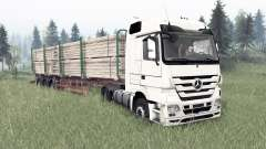 Mercedes-Benz Actros (MP3) для Spin Tires