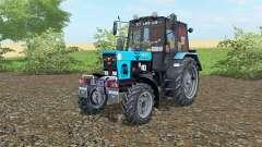 МТЗ-82.1 Беларус  голубой окрас для Farming Simulator 2017