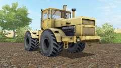 Кировец К-700А мяко-жовте забарвлення для Farming Simulator 2017