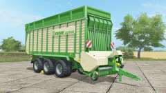 Krone ZX 550 GD malachite для Farming Simulator 2017