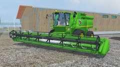 John Deere S690i dark pastel green для Farming Simulator 2013