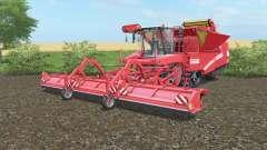 Grimme Tectron 415 working width 9m для Farming Simulator 2017