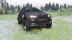 BMW X6 M (E71) BORZ для Spin Tires