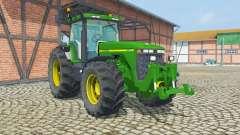 John Deere 8400 ruckfahrkamera для Farming Simulator 2013