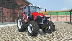 Lindner Geotrac 94 2011 with FL console для Farming Simulator 2013