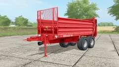 SIP Orion 100 light brilliant red для Farming Simulator 2017