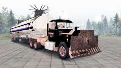 Mack R600 The Tanker для Spin Tires
