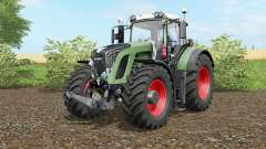 Fendt 936 Vario wheel options для Farming Simulator 2017