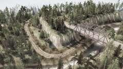 Пересечение шести дорог для MudRunner