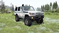 Toyota Land Cruiser 70 (J76) 2007 ICRC для MudRunner