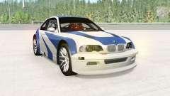 BMW M3 GTR (E46) NFS MW Edition для BeamNG Drive