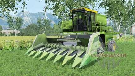 Дон-1500А умеренно-зелёный окрас для Farming Simulator 2015