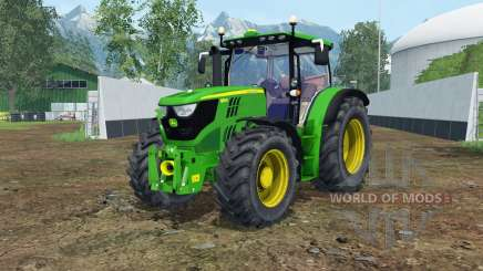 John Deere 6150R islamic green для Farming Simulator 2015