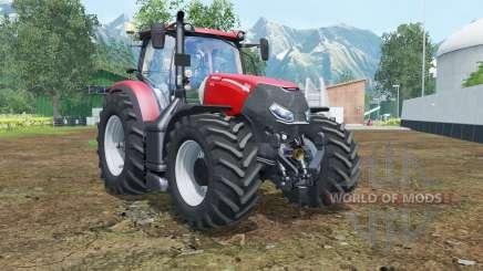 Case IH Optum 300 CVX vivid red для Farming Simulator 2015