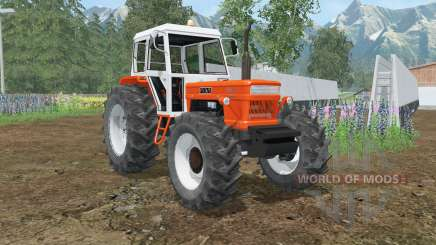 Fiat 1300 DT Super orioles orange для Farming Simulator 2015