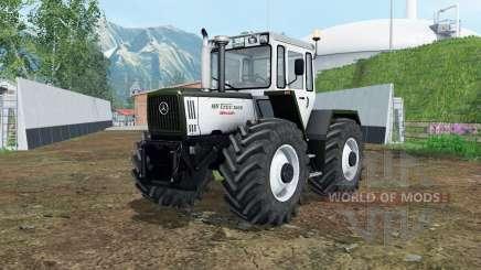 Mercedes-Benz Trac 900&1800 для Farming Simulator 2015