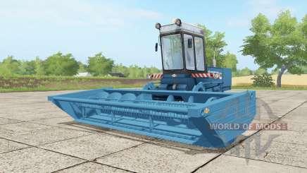 Fortschritt E 302 curious blue для Farming Simulator 2017