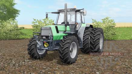 Deutz-Fahr AgroStar 6.61 wheels selection для Farming Simulator 2017
