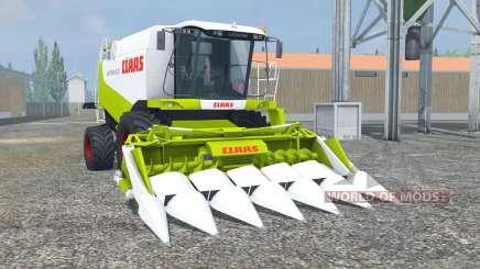 Claas Lexion 550 vivid lime green для Farming Simulator 2013
