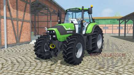 Deutz-Fahr Agrotron TTV 6190 front loader для Farming Simulator 2013