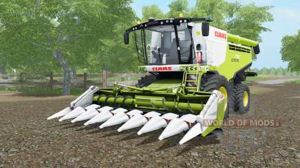 Claas Lexion 780 & V-series для Farming Simulator 2017