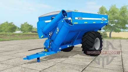 Kinze 850 vivid cerulean для Farming Simulator 2017
