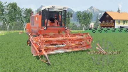 Bizon Super Z056 smashed pumpkin для Farming Simulator 2015