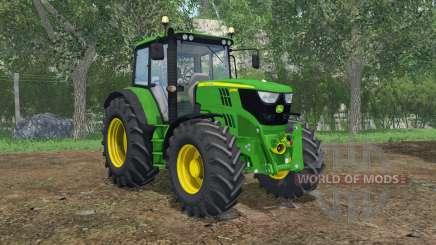 John Deere 6115M FL console для Farming Simulator 2015