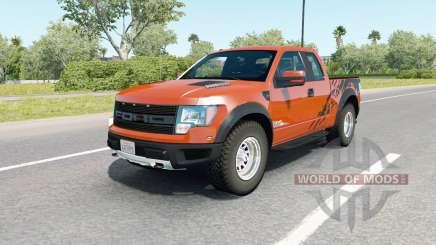 Ford F-150 SVT Raptor SuperCab 2009 для American Truck Simulator