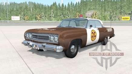 Gavril Bluebuck Storybrooke Sheriffs Department для BeamNG Drive