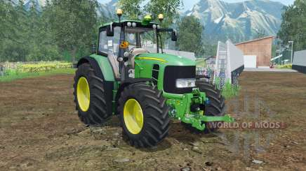 John Deere 6930 Premium FL console для Farming Simulator 2015