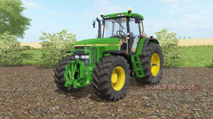 John Deere 7810 full edition для Farming Simulator 2017