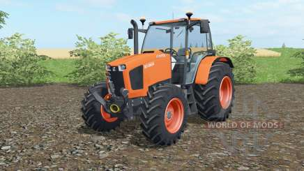 Kubota M135GX 2012 для Farming Simulator 2017
