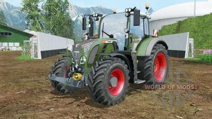 Fendt 714-724 Vario FL console для Farming Simulator 2015