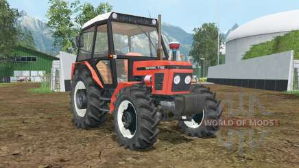 Zetor 7745 wheels shader для Farming Simulator 2015